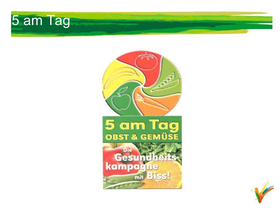 5 am Tag Kennt das jemand 5 am Tag ist eine Kampagne des Bundesministeriums für Verbraucherschutz, Ernährung und Landwirtschaft.