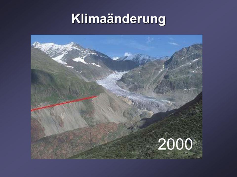 Klimaänderung 2000 1904