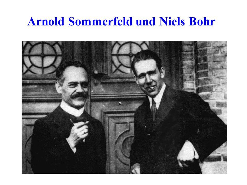 Arnold Sommerfeld und Niels Bohr