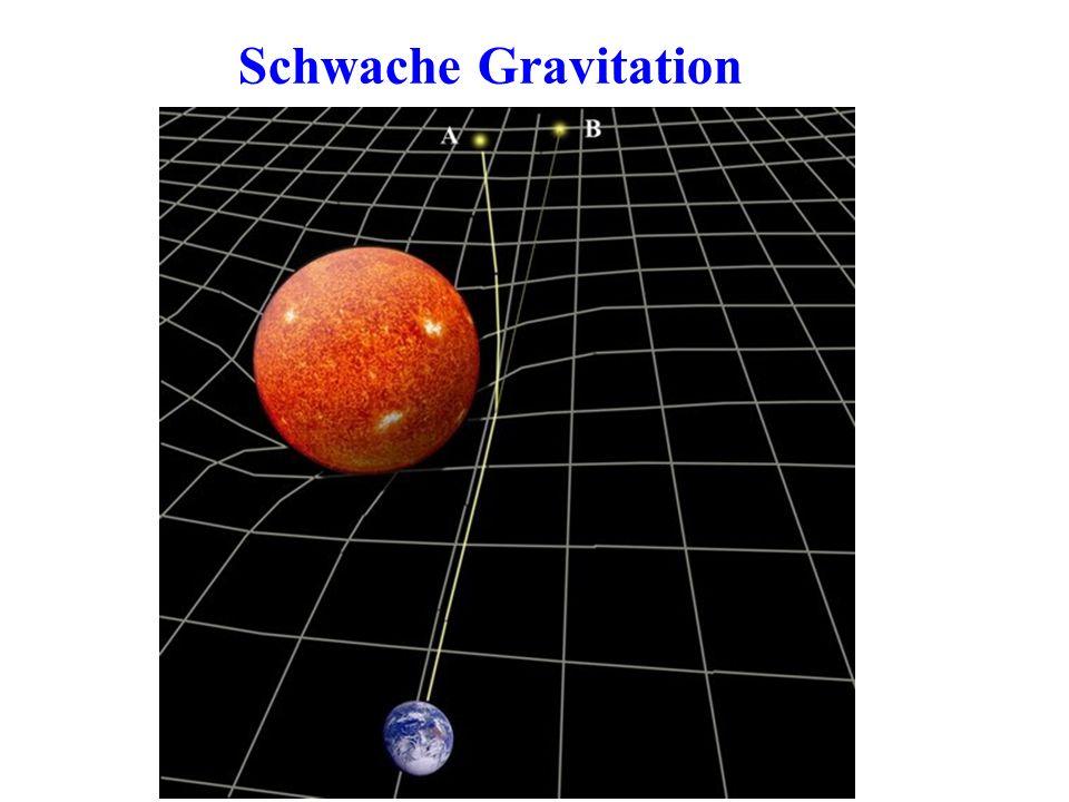 Schwache Gravitation