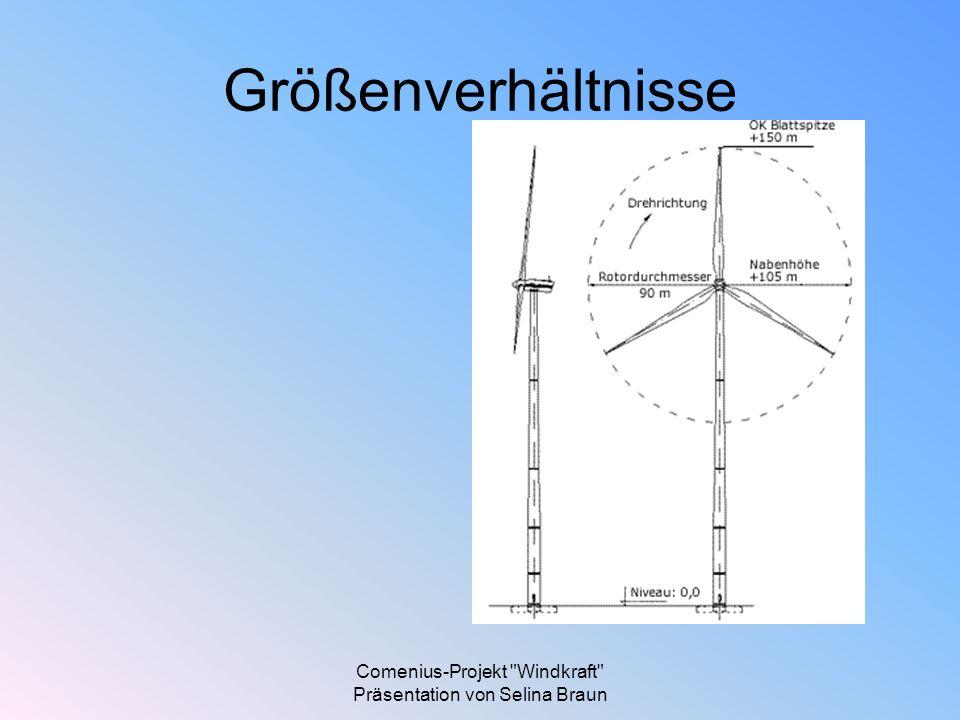 Comenius-Projekt Windkraft Präsentation von Selina Braun