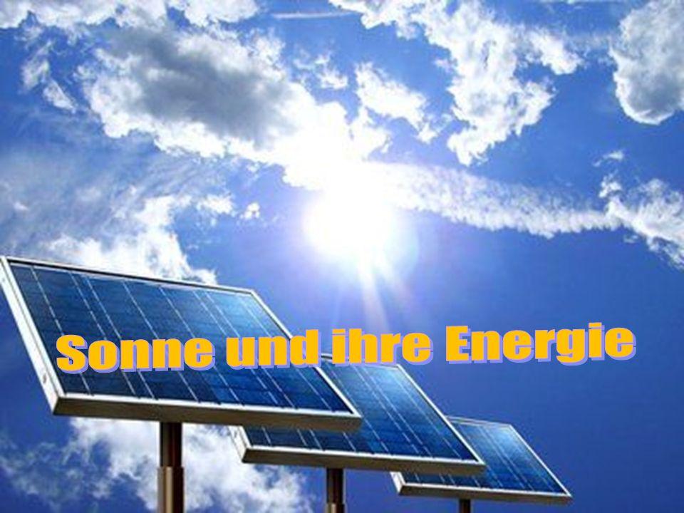 Sonne und ihre Energie