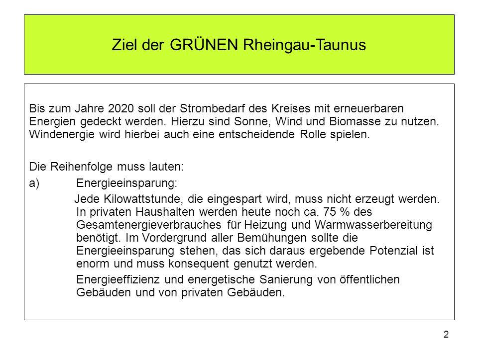 Ziel der GRÜNEN Rheingau-Taunus