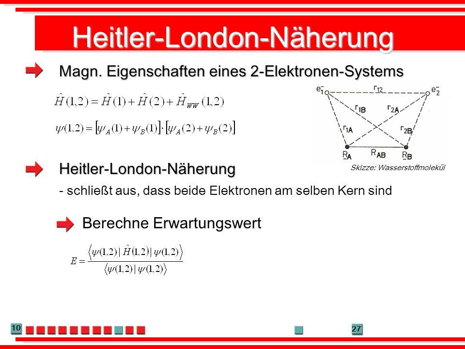 Heitler-London-Näherung