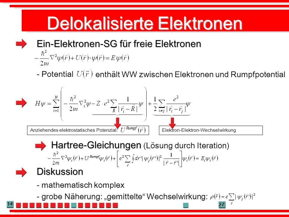 Delokalisierte Elektronen