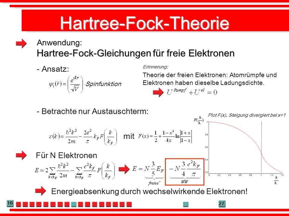 Hartree-Fock-Theorie