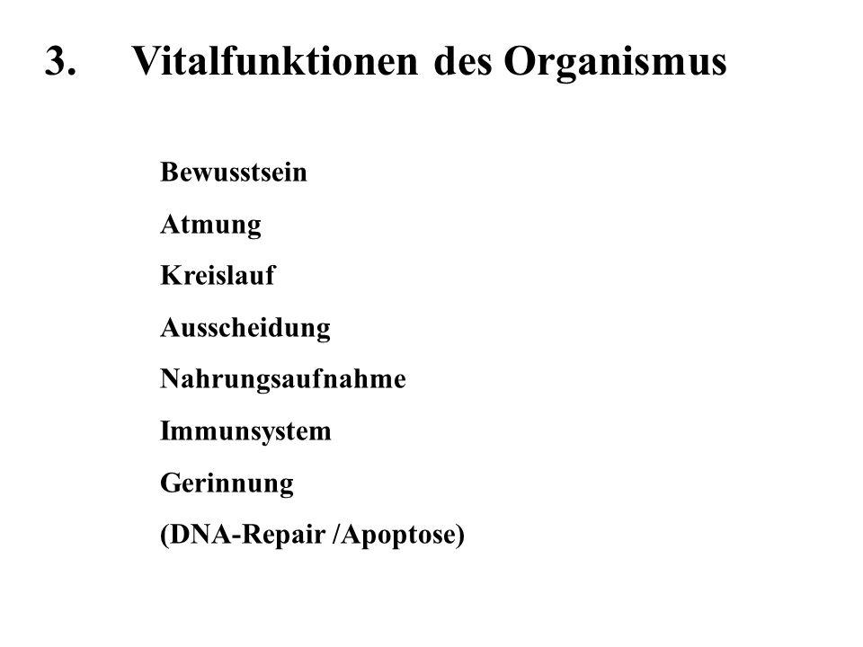 3. Vitalfunktionen des Organismus