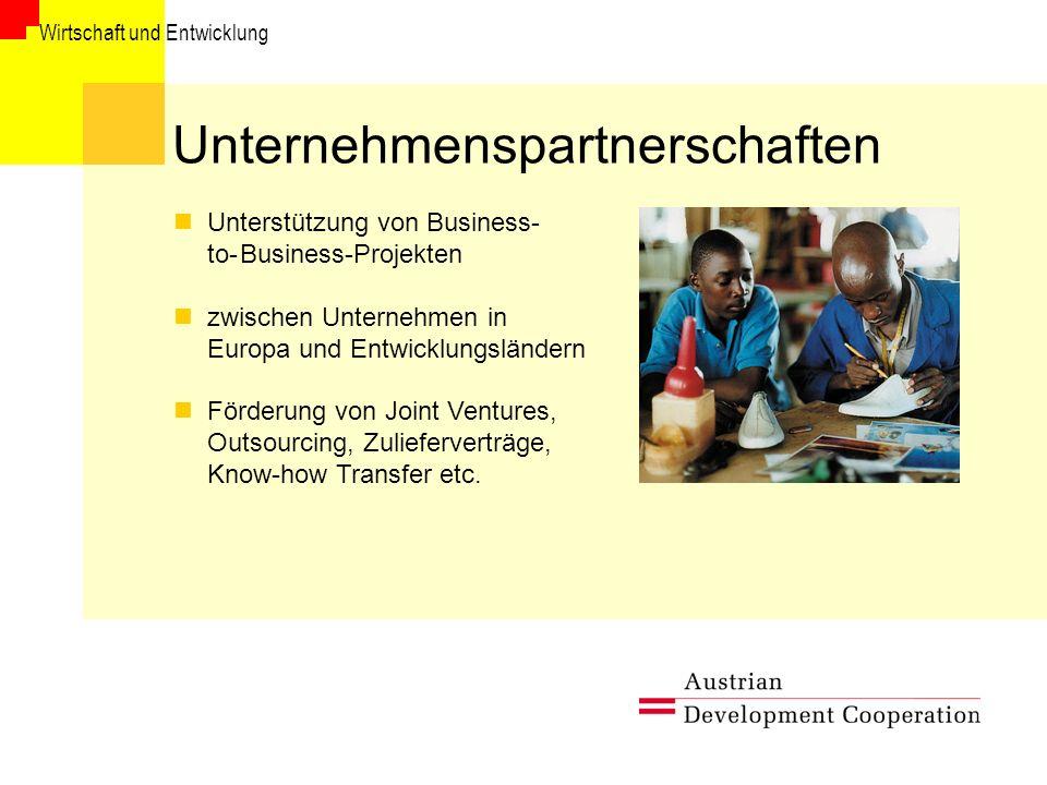 Unternehmenspartnerschaften