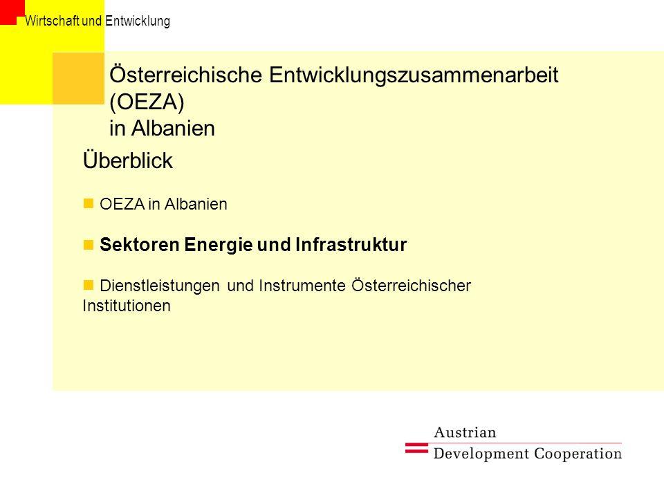 Österreichische Entwicklungszusammenarbeit (OEZA) in Albanien