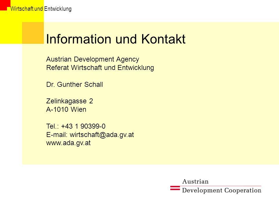 Information und Kontakt