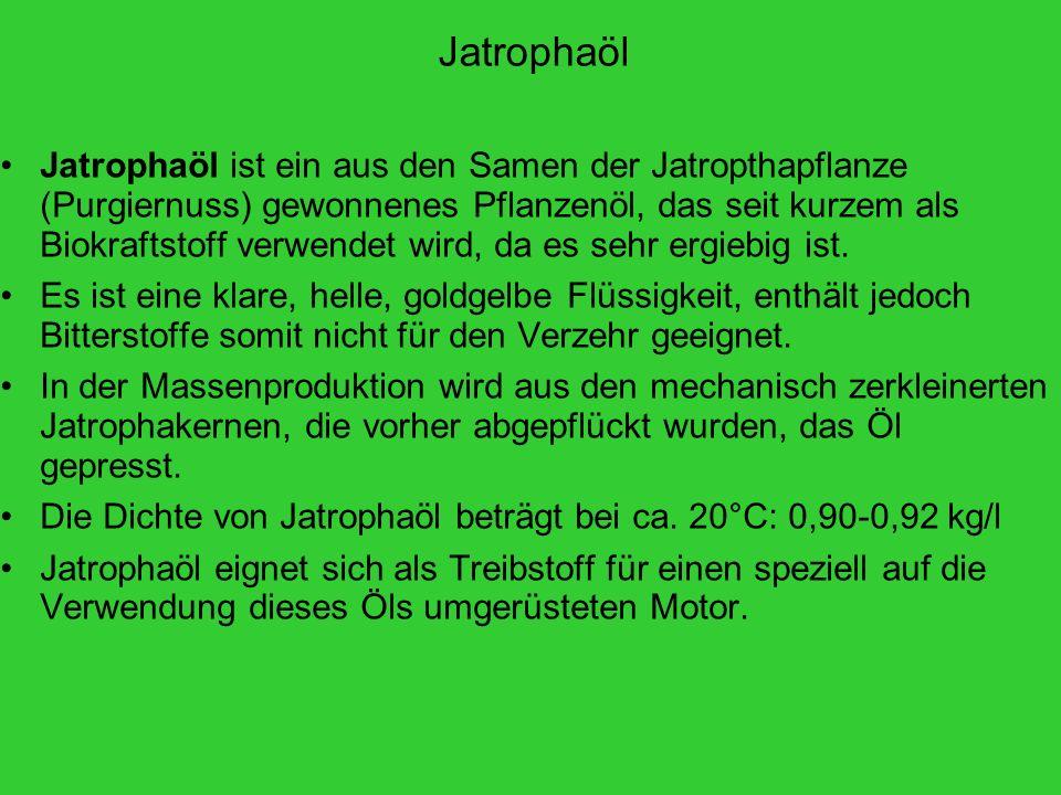 Jatrophaöl