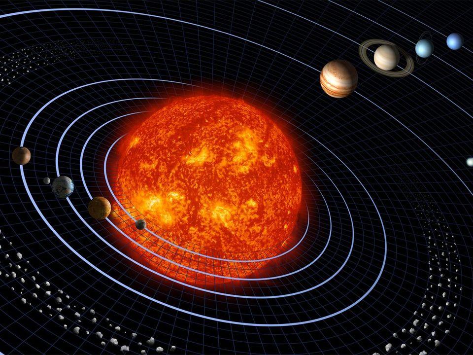 unser Sonnensystem = etwa hier