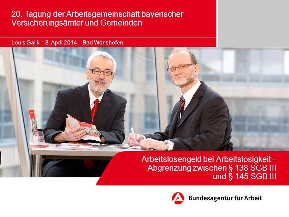 20. Tagung der Arbeitsgemeinschaft bayerischer Versicherungsämter und Gemeinden