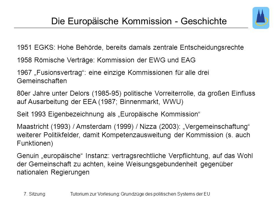 Die Europäische Kommission - Geschichte