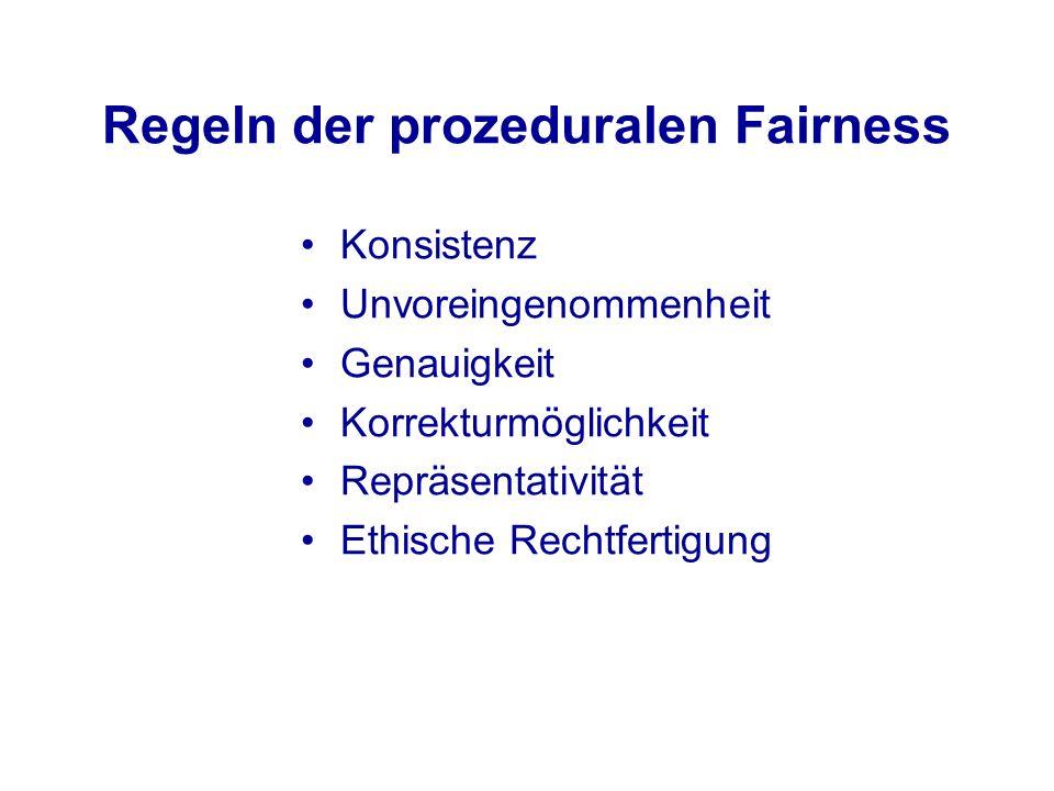 Regeln der prozeduralen Fairness