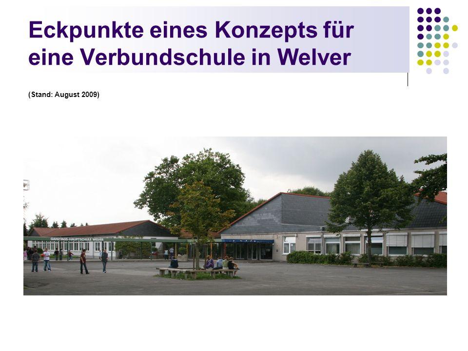 Eckpunkte eines Konzepts für eine Verbundschule in Welver