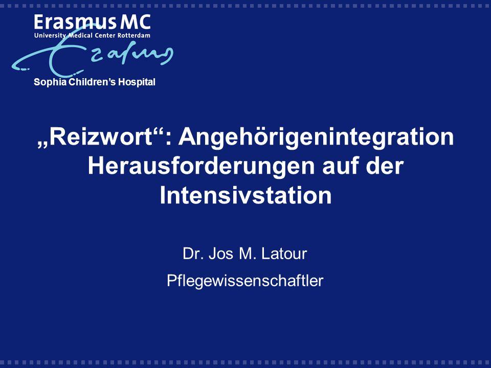 Dr. Jos M. Latour Pflegewissenschaftler