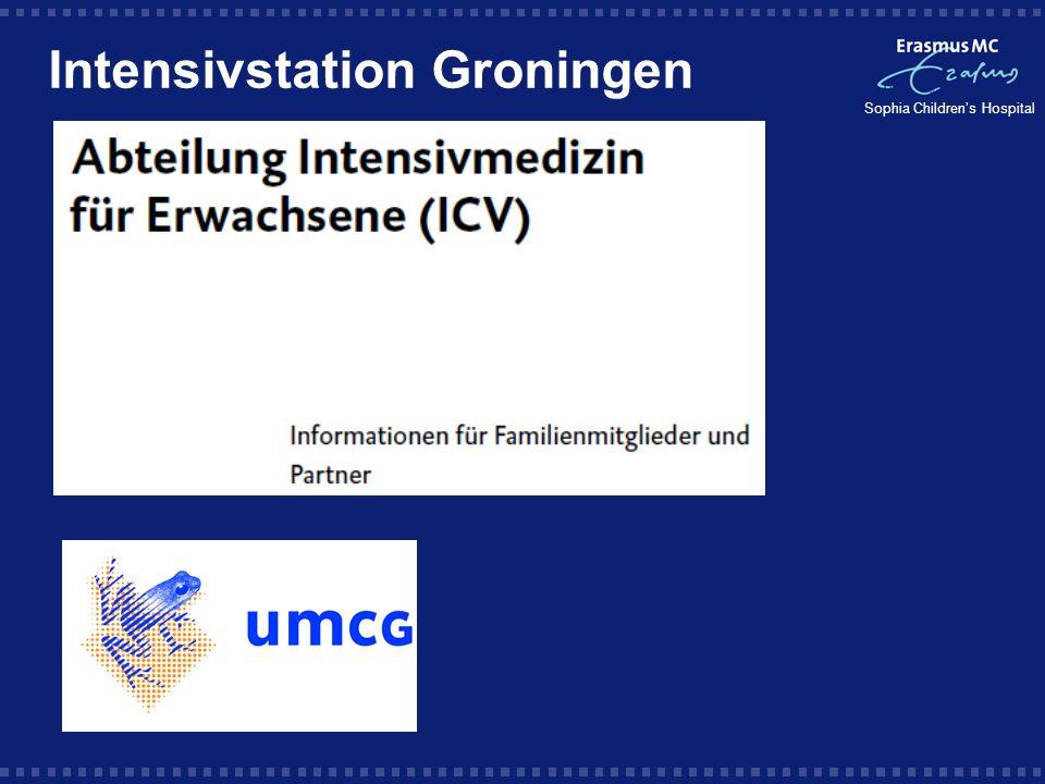 Intensivstation Groningen