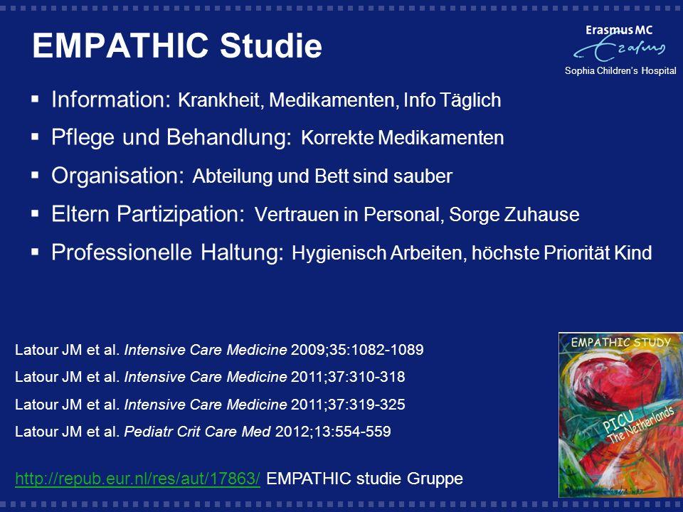 EMPATHIC Studie Information: Krankheit, Medikamenten, Info Täglich