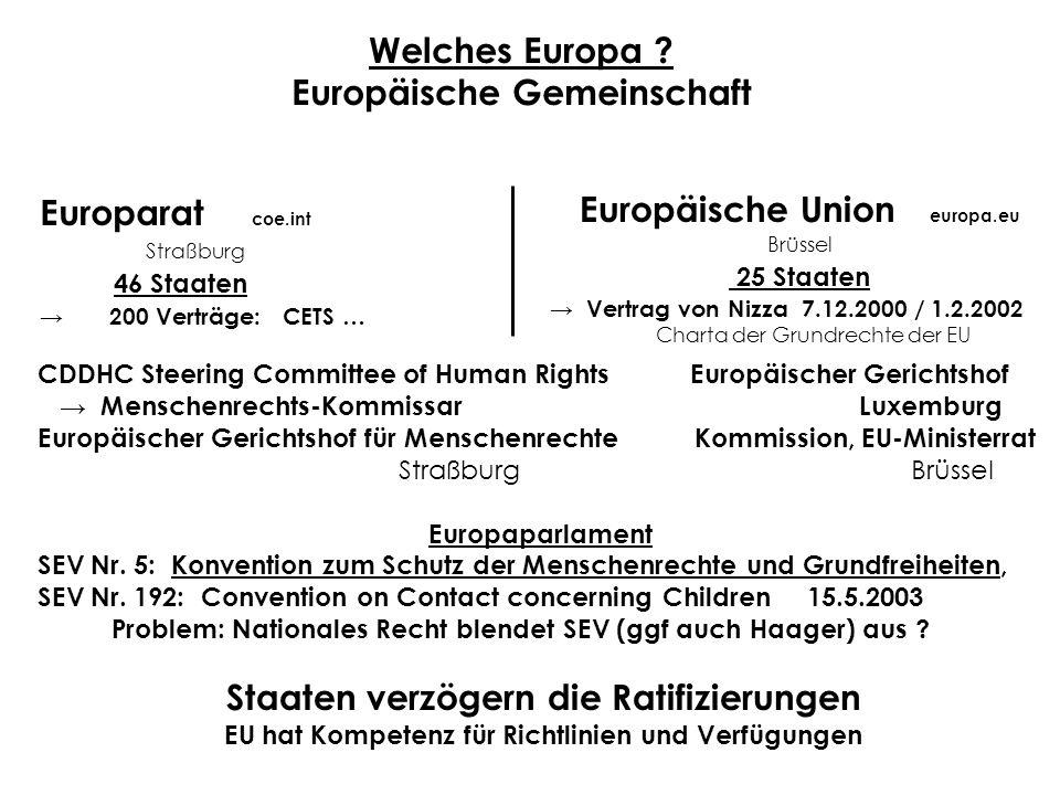 Welches Europa Europäische Gemeinschaft