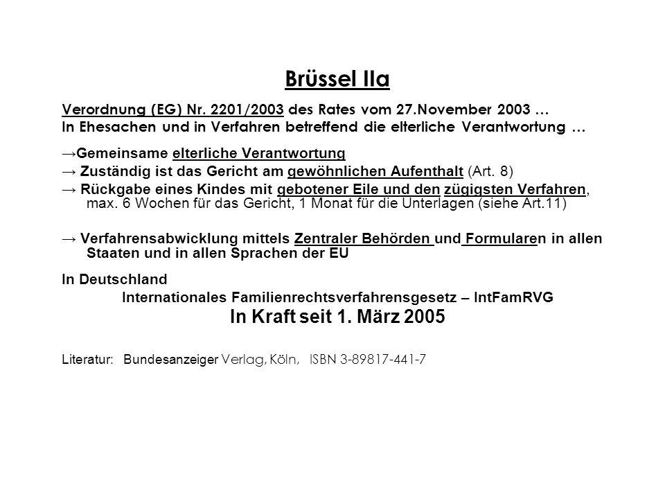 Internationales Familienrechtsverfahrensgesetz – IntFamRVG