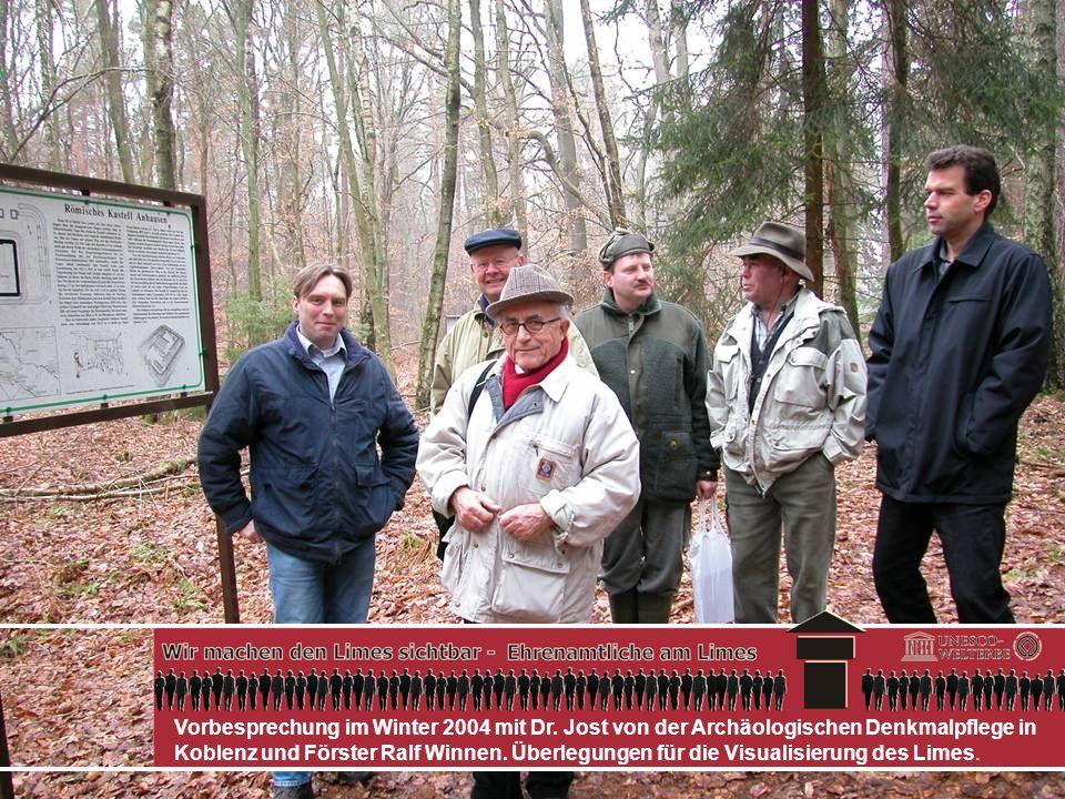 Vorbesprechung im Winter 2004 mit Dr