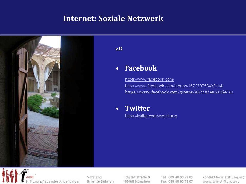 Internet: Soziale Netzwerk