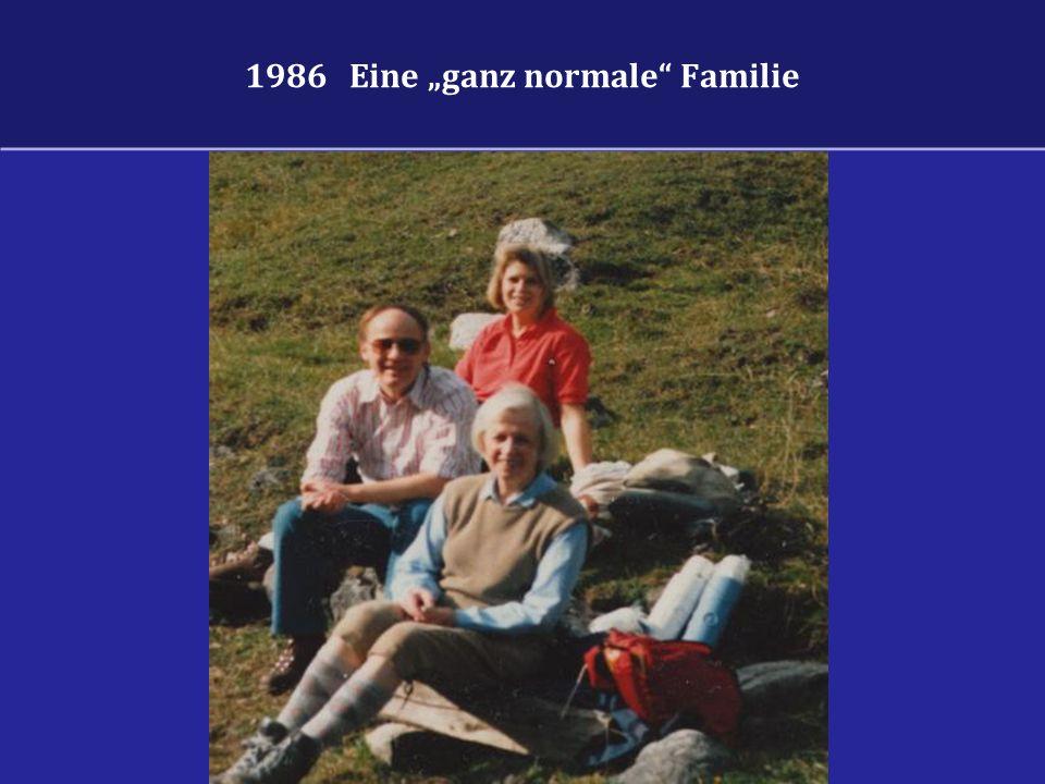 """1986 Eine """"ganz normale Familie"""