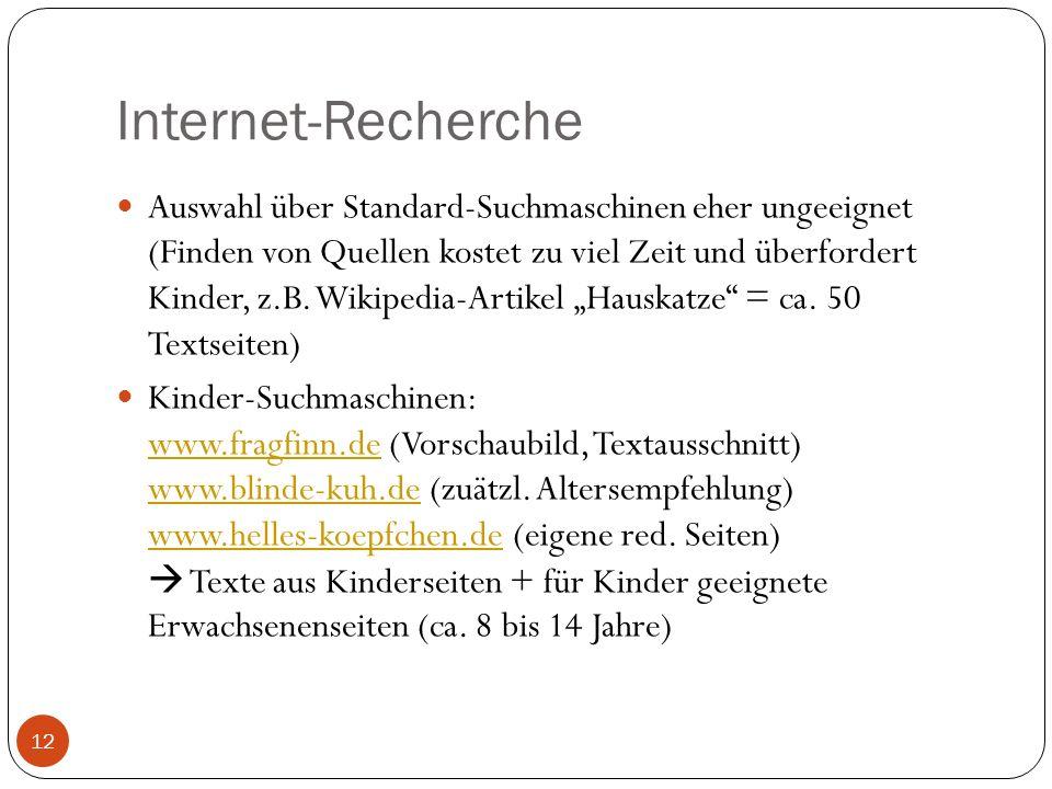 Internet-Recherche