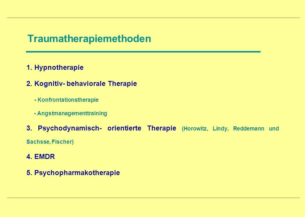Traumatherapiemethoden