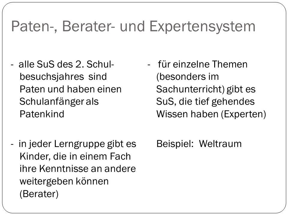Paten-, Berater- und Expertensystem