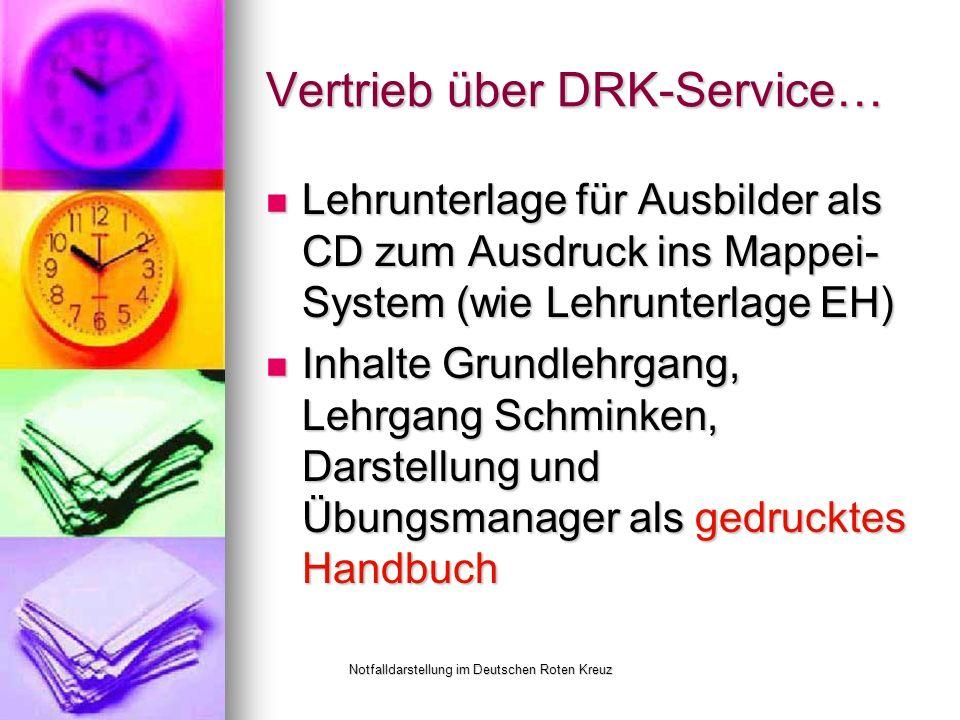 Vertrieb über DRK-Service…