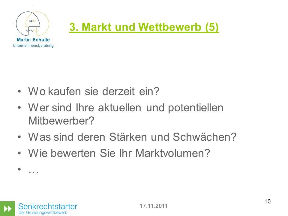 3. Markt und Wettbewerb (5)