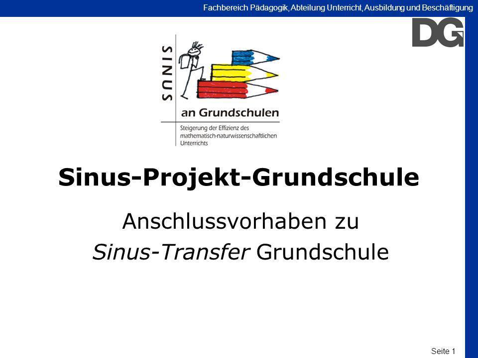 Sinus-Projekt-Grundschule