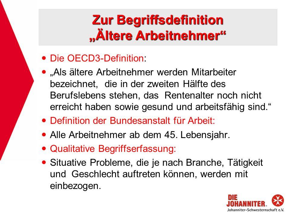 """Zur Begriffsdefinition """"Ältere Arbeitnehmer"""