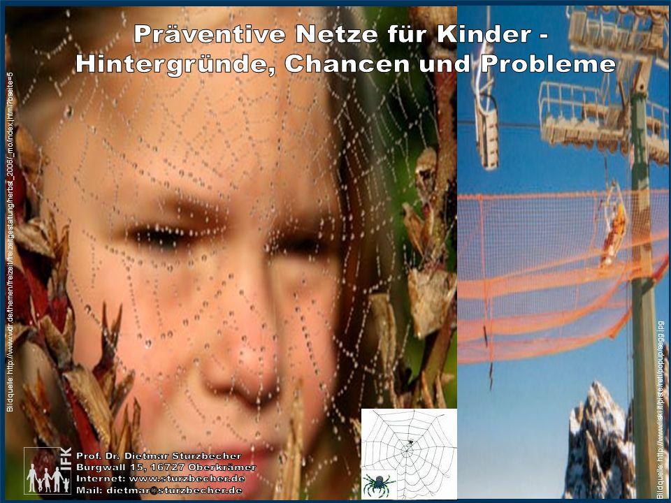 Präventive Netze für Kinder - Hintergründe, Chancen und Probleme
