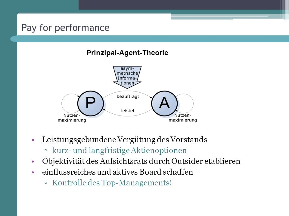 Prinzipal-Agent-Theorie