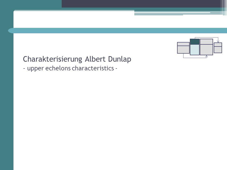 Charakterisierung Albert Dunlap