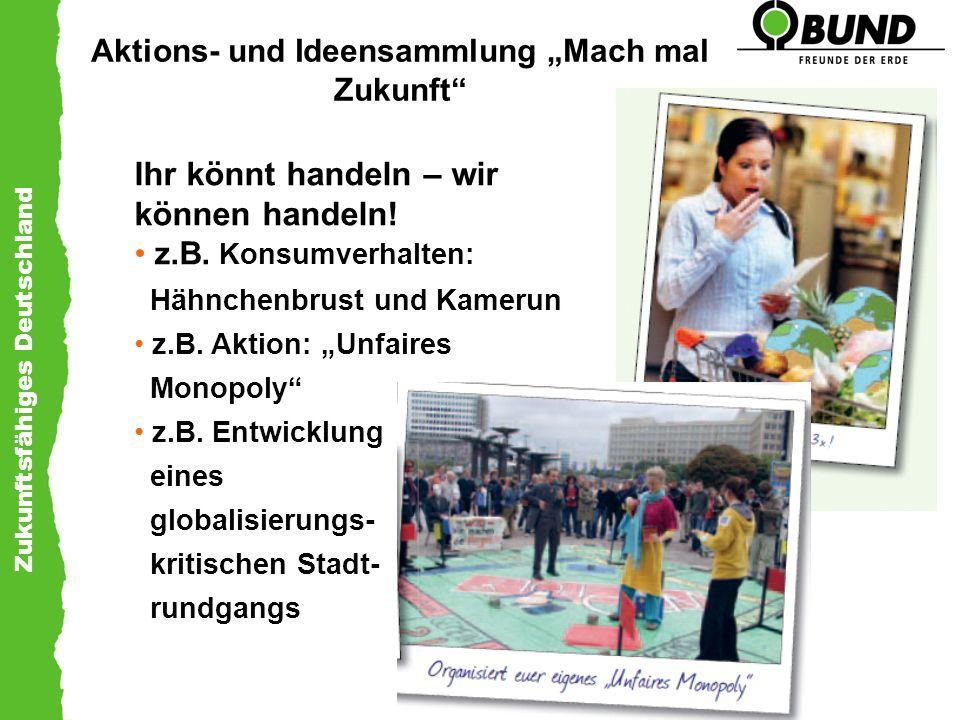"""Aktions- und Ideensammlung """"Mach mal Zukunft"""