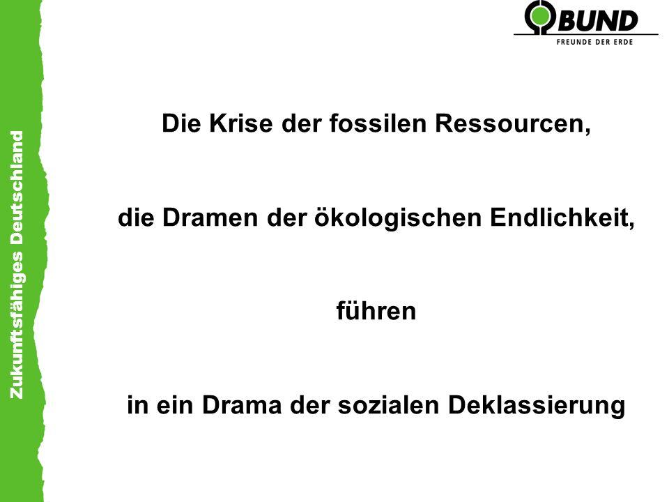 Die Krise der fossilen Ressourcen,