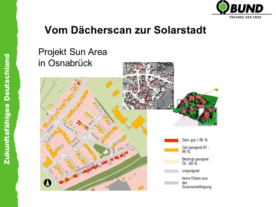 Vom Dächerscan zur Solarstadt