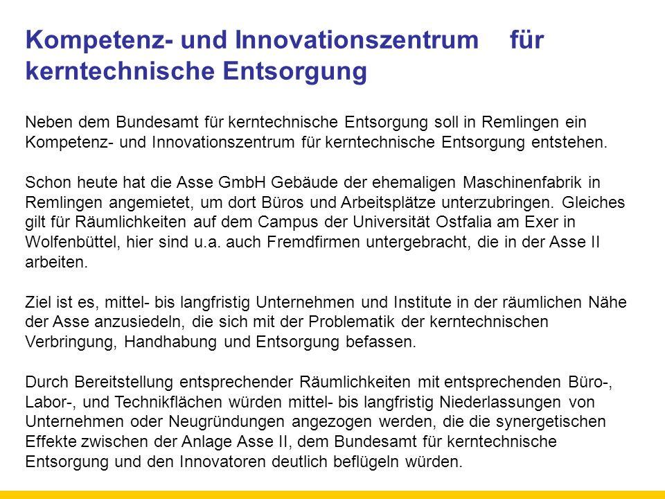 Kompetenz- und Innovationszentrum für kerntechnische Entsorgung