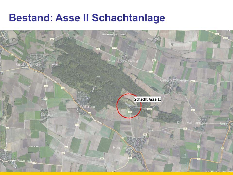 Bestand: Asse II Schachtanlage