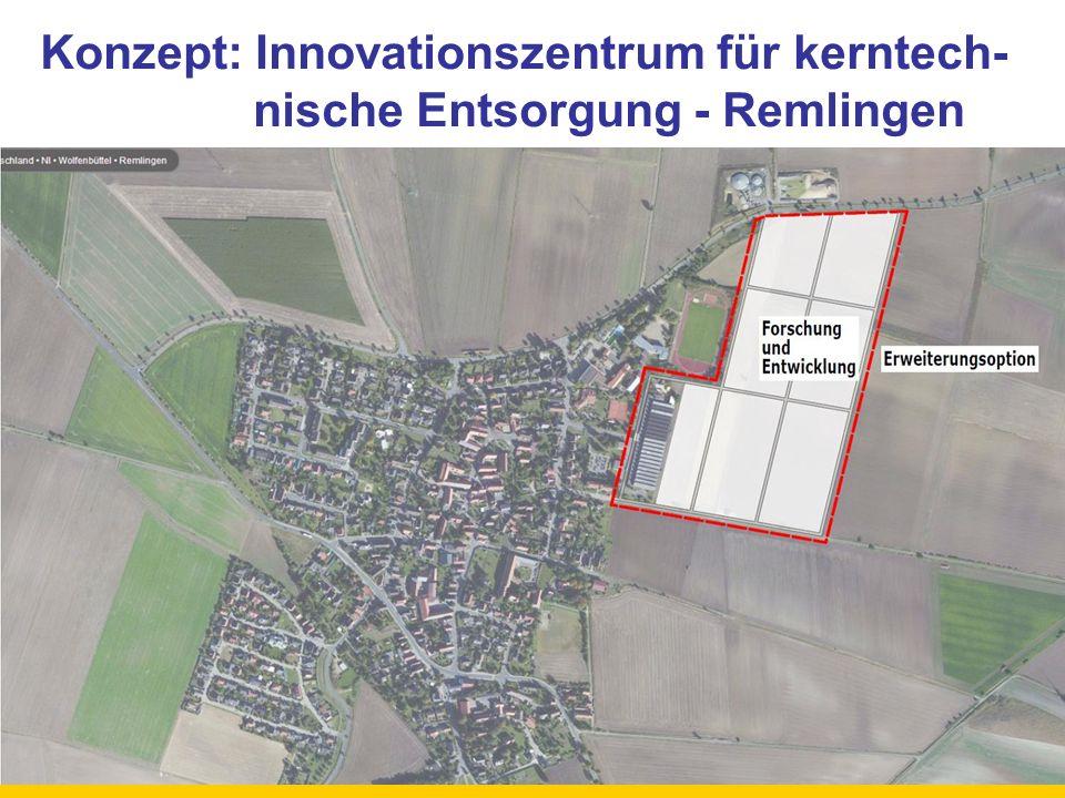 Konzept: Innovationszentrum für kerntech-