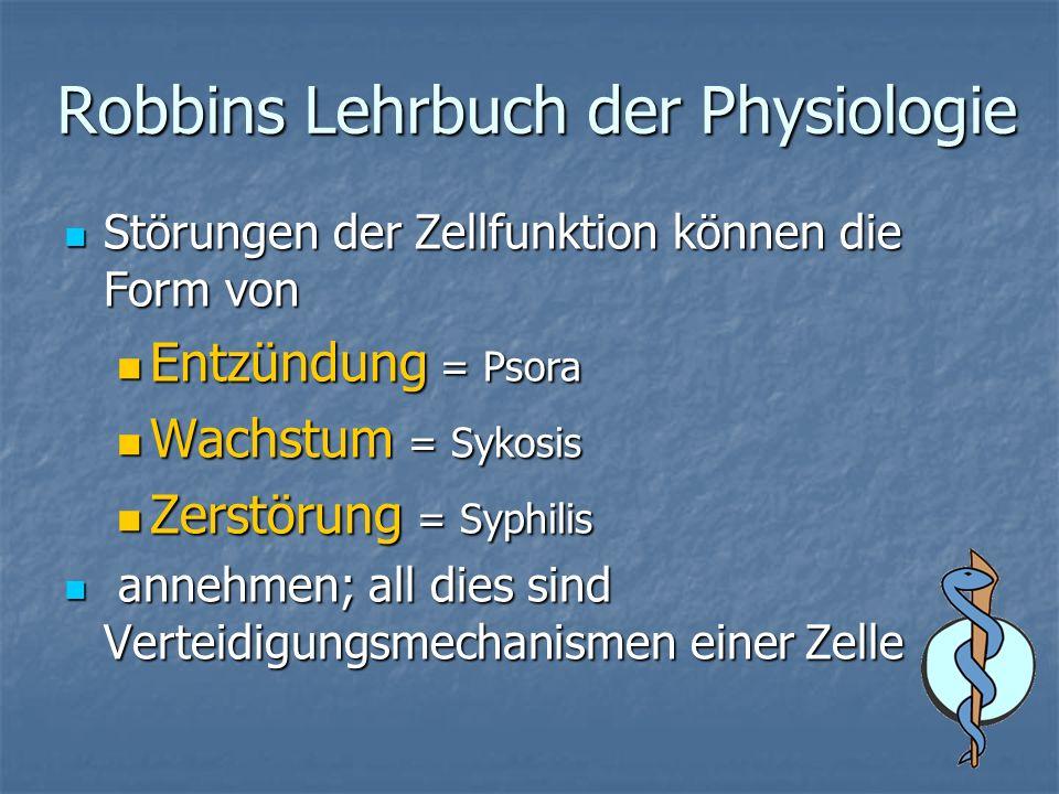 Robbins Lehrbuch der Physiologie