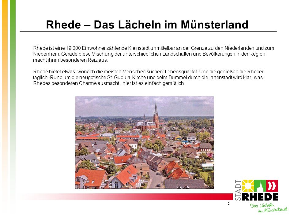 Rhede – Das Lächeln im Münsterland