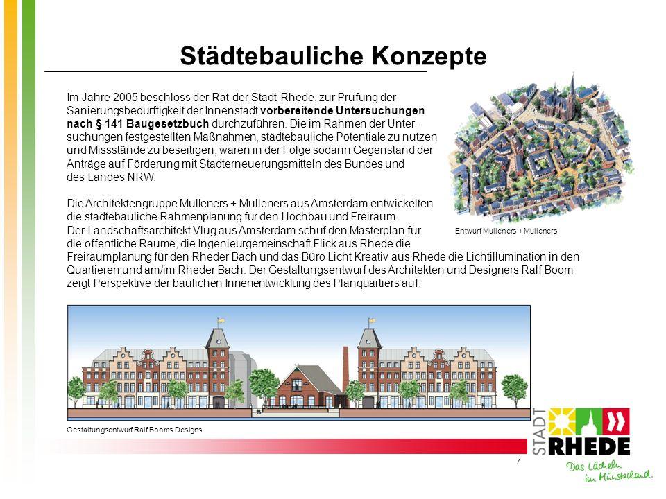Städtebauliche Konzepte