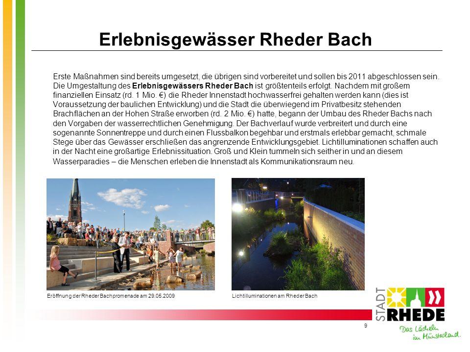 Erlebnisgewässer Rheder Bach