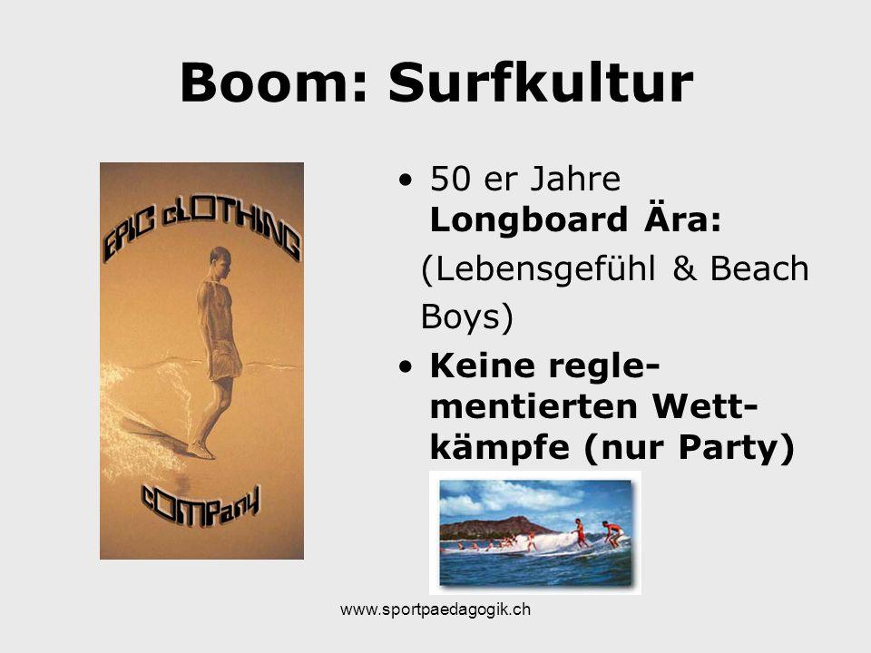 Boom: Surfkultur 50 er Jahre Longboard Ära: (Lebensgefühl & Beach