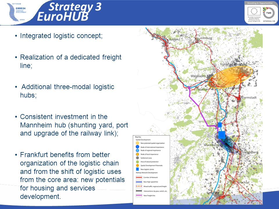 EuroHUB Strategy 3 Integrated logistic concept;